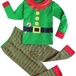 c63cc011d Fancyinn Chicos Chicas Conjuntos de Pijamas de Navidad Niños pequeños Reno  Disfraz Manga Larga Ropa de Dormir Traje de Dormir