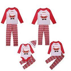 73797168a CHRONSTYLE Conjunto de Pijamas Familiares de Navidad